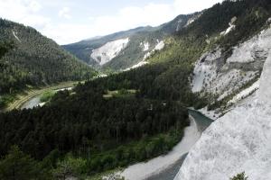 Rheinschlucht Kräuterwanderung Trin / Flims (Graubünden)