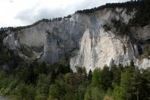 Rheinschluchtfelsen