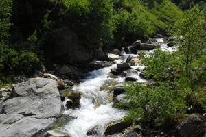 Wildbach Vals