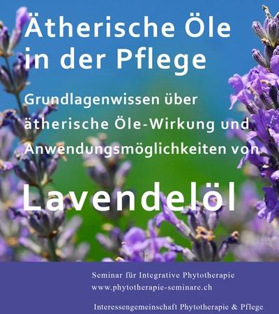 Lavendelbroschüre